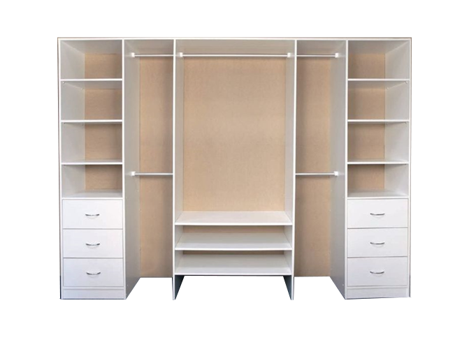 Buy White Shelving in Lagos Nigeria – Mcgankons Furniture Ltd MC-BS001
