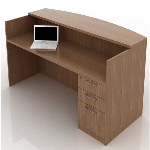 Tower Reception Table in Lagos Nigeria | Mcgankons Office Furniture