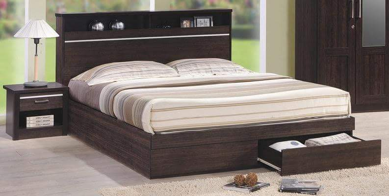 Buy Harper Bed in Lagos Nigeria - Mcgankons Furniture