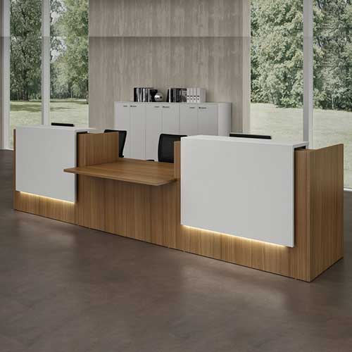 Customized Reception Table in Lagos Nigeria | Mcgankons Office Furniture