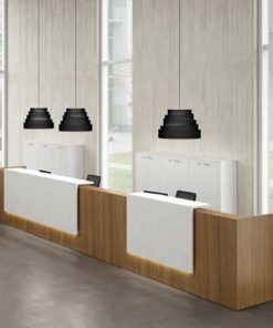 Double Reception Table in Lagos Nigeria | Mcgankons Office Furniture