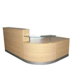 Curved Reception Table in Lagos Nigeria | Mcgankons Office Furniture