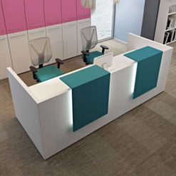 Buy Wooden Reception Table in Nigeria - Mcgankons Furniture