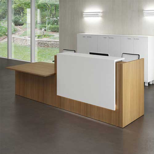Front Desk Reception Table in Lagos Nigeria | Mcgankons Office Furniture