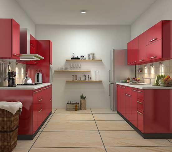 Buy Red Kitchen in Lagos Nigeria - Mcgankons Furniture