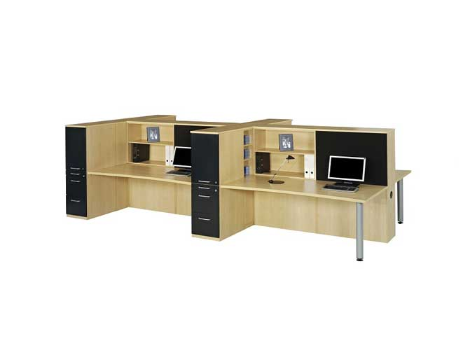 Vigor Workstation Table in Lagos Nigeria | Mcgankons Office Furniture