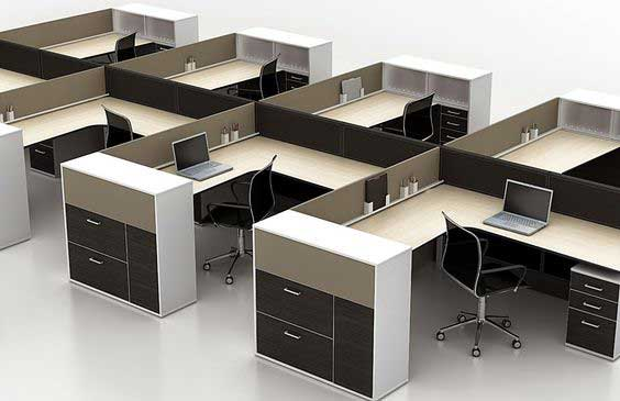 Chain Workstation table in Lagos Nigeria | Mcgankons Office Furniture