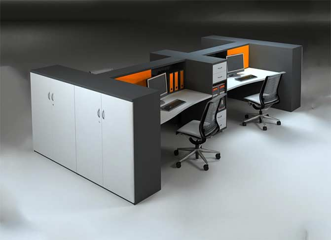 Cozy Workstation Table in Lagos Nigeria   Mcgankons Office Furniture
