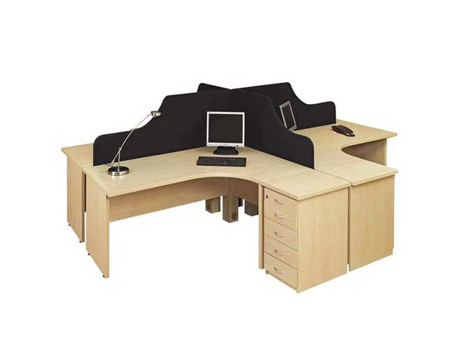Kawais Workstation Table in Lagos Nigeria | Mcgankons Office Furniture