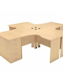 Max Workstation Table in Lagos Nigeria | Mcgankons Office Furniture Store