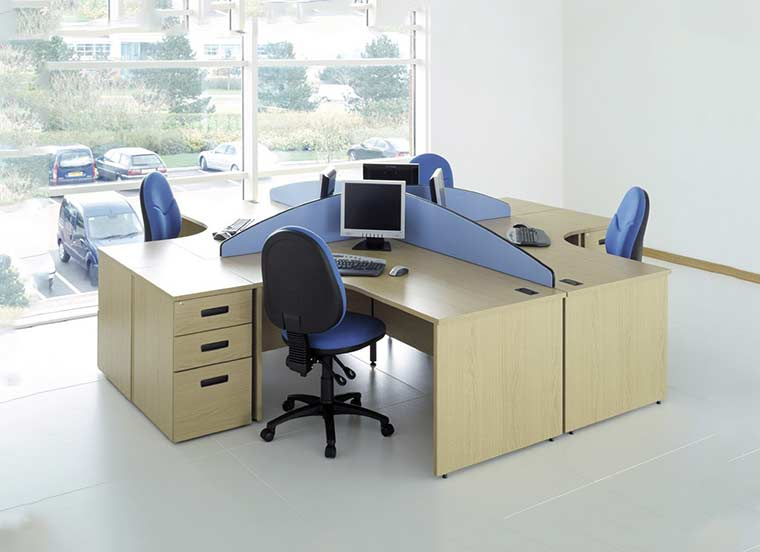 Maxwell Workstation Table in Lagos Nigeria | Mcgankons Office Furniture
