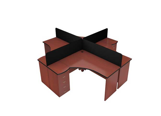Oxford Workstation Table in Lagos Nigeria   Mcgankons Office Furniture