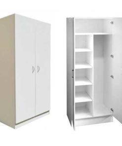 Two Doors Wardrobe in Lagos Nigeria | Mcgankons Furniture
