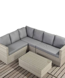 Rattan Corner Sofa in Lagos Nigeria | Mcgankons Furniture