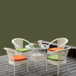 MFR11 Rattan Bouquet Chair Table