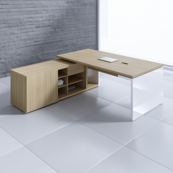 Buy Left Return Mito Executive Table in Lagos Nigeria | Mcgankons
