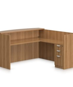 Right Return Reception Desk in Lagos Nigeria | Mcgankons Furniture