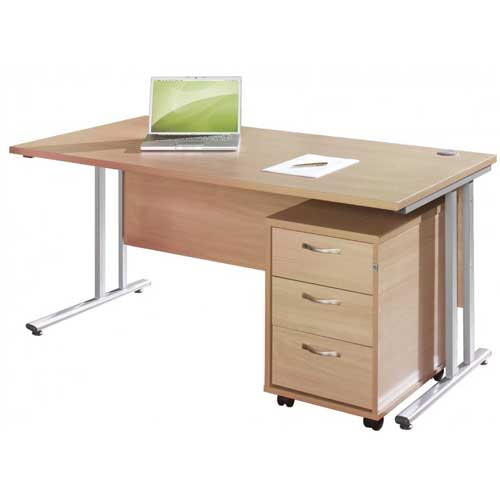 Metal Leg Office Table in Lagos Nigeria | Mcgankons Office Furniture Store