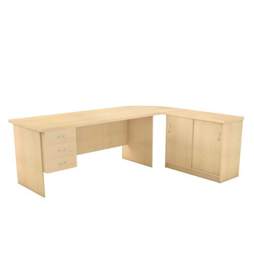 L Type Executive Table in Lagos Nigeria   Mcgankons Office Furniture