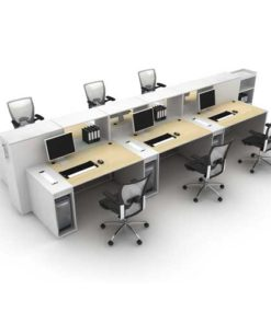 Linear Workstation Table in Lagos Nigeria   Mcgankons Office Furniture