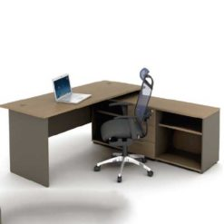 Walnut Office Table in Lagos Nigeria | Mcgankons Office Furniture Store