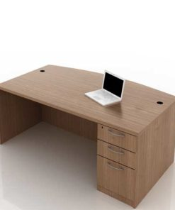 Curved Office Table 2