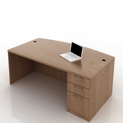 Curved Office Table 1