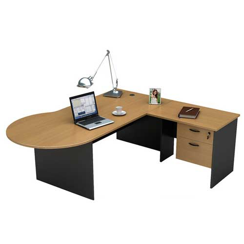 Round Office Desk in Lagos Nigeria | Mcgankons Office Furniture Store