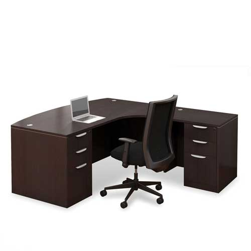 Melamine Office Desk in Lagos Nigeria | Mcgankons Office Furniture Store