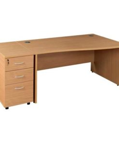 Wire Manager Office Desk in Lagos Nigeria | Mcgankons Office Furniture