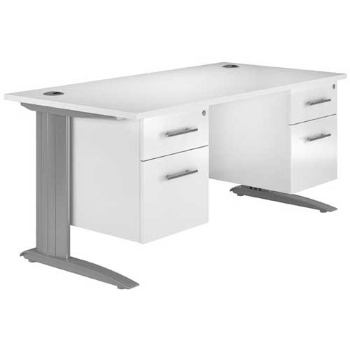 Metal leg Office Desk in Nigeria | Mcgankons Office Furniture Store