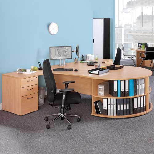 Circular Office Desk in Lagos Nigeria | Mcgankons Office Furniture Store
