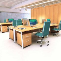Double Office Desk in Lagos Nigeria | Mcgankons Office Furniture Store