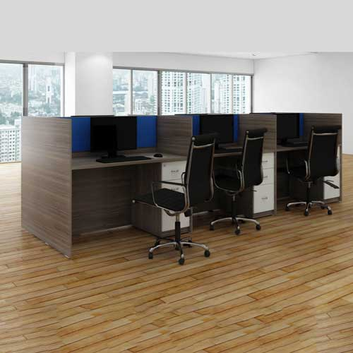 Cubicle Workstation Table in Lagos Nigeria | Mcgankons Furniture Store