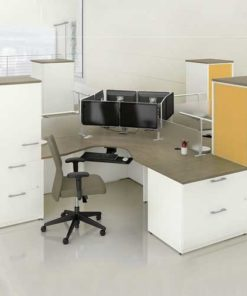 Ergonomic Workstation Table in Lagos Nigeria | Mcgankons Furniture