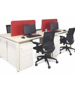 Screen Workstation Table in Lagos Nigeria   Mcgankons Office Furniture