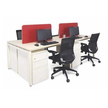 Screen Workstation Table in Lagos Nigeria | Mcgankons Office Furniture