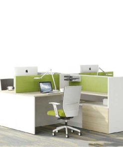 Green Workstation Table in Lagos Nigeria   Mcgankons Office Furniture