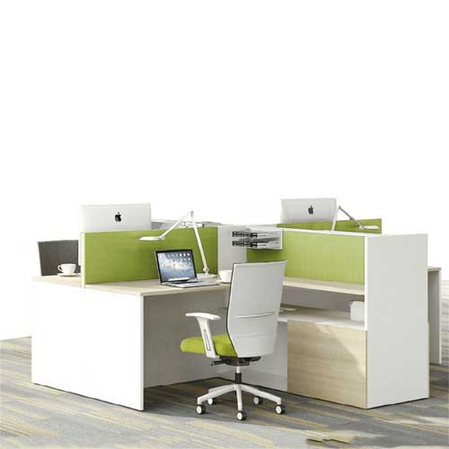 Green Workstation Table in Lagos Nigeria | Mcgankons Office Furniture