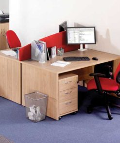 Red Workstation Table in Lagos Nigeria | Mcgankons Office Furniture