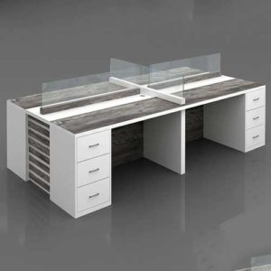 High Workstation Table in Lagos Nigeria | Mcgankons Furniture Store