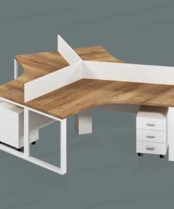 Contemporary Workstation Table in Lagos Nigeria | Mcgankons Furniture