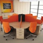 Mobile Workstation Table in Lagos Nigeria | Mcgankons Office Furniture
