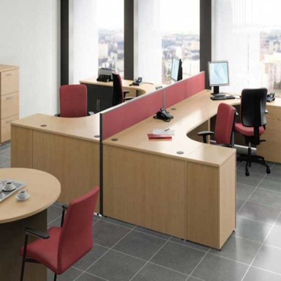 Laminated Workstation Table in Lagos Nigeria | Mcgankons Furniture
