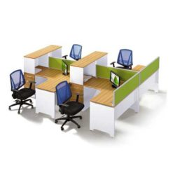 MFC Workstation Table in Lagos Nigeria | Mcgankons Office Furniture