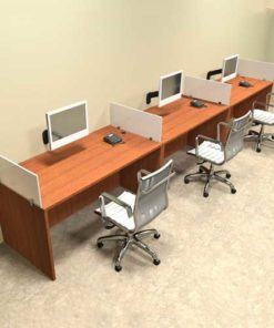 Three Seater Workstation Table in Lagos Nigeria | Mcgankons Furniture