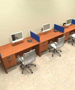 Three Seater Workstation Table 2