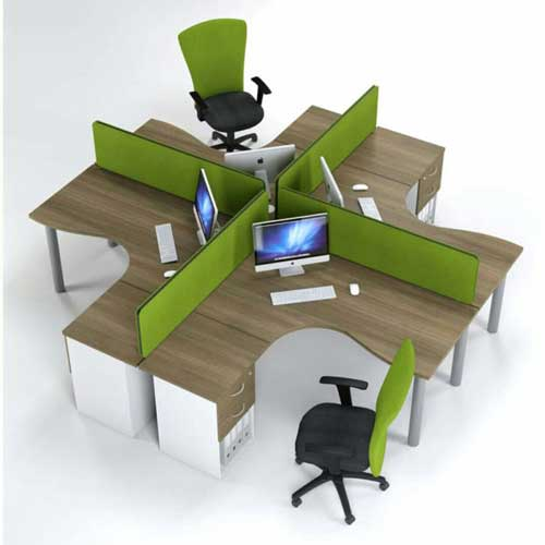 Metal Workstation Table in Lagos Nigeria | Mcgankons Furniture Store