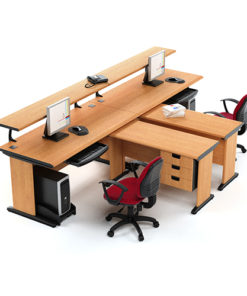 Pedestal Workstation Table in Lagos Nigeria | Mcgankons Office Furniture