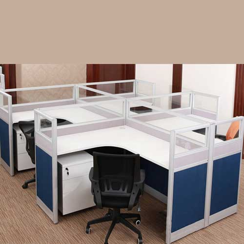 Aluminium Workstation Table in Lagos Nigeria | Mcgankons Furniture